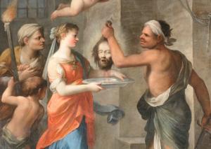 Plautilla Bricci, Decollazione del Battista, Poggio Mirteto, San Giovanni Battista