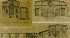 Studi sul Barocco. Juvarra, Progetto per lo scalone di Palazzo Madama
