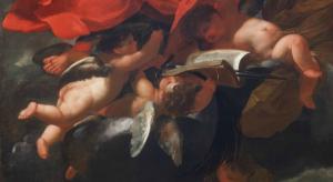 Studi sul Barocco. C. Dauphin, San Paolo rapito al terzo cielo, particolare.