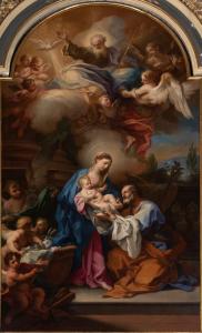 S. Conca, Sacra Famiglia, 1715-1720 (Ceva, Collegiata di Santa Maria Assunta)