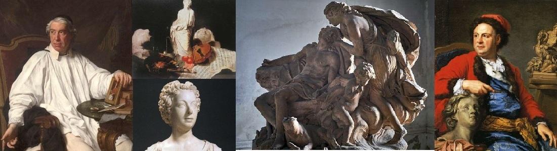 Accademia di Francia a Roma: Subleyras Vanloo Slodtz Bouchardon