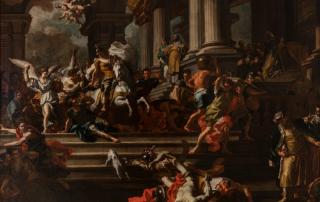 F. Solimena, La cacciata di Eliodoro dal Tempio
