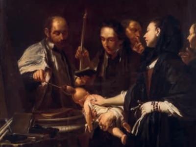 P.-C. Trémolières, Il battesimo, 1733-1734, Torino, Museo di Arti Decorative Accorsi-Ometto